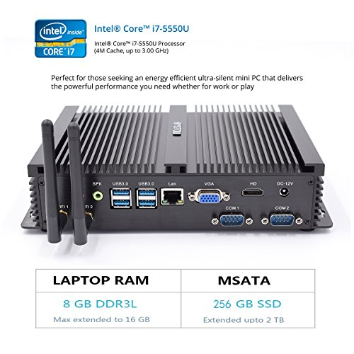 HYSTOU FMP04 Intel Core I7-5550U, Gaming Mini Pc, ...