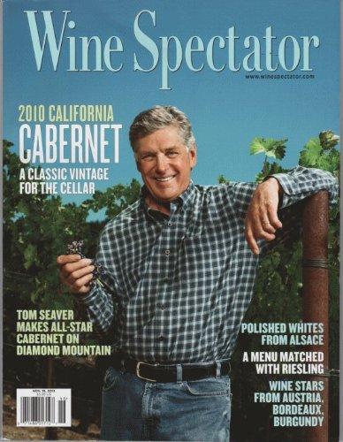 Wine Spectator 2013 November15 - Tom Seaver Makes All-Star Cabernet On Diamond Mountain