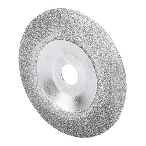 Fictor 100ミリメートルプロフェッショナルダイヤモンドコーティングされた砥石カップ研磨ディスク80グリット