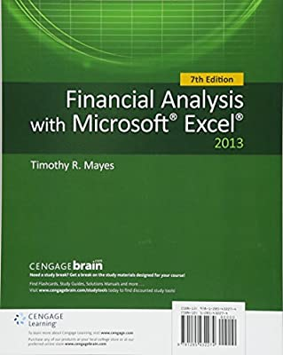 financial analysis with microsoft excel 7th edition pdf free