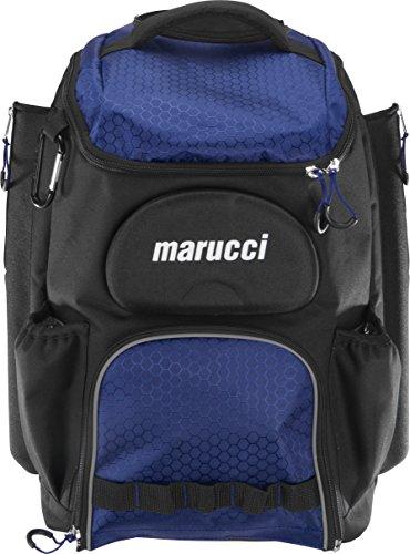 Axle Pack - Marucci Axle Wheeled Baseball Batpack, Navy Blue
