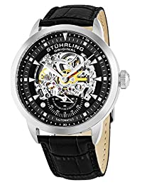 Stuhrling Original Men's Symphony Aristocrat Executive Automatic Skeleton Watch 133.33151