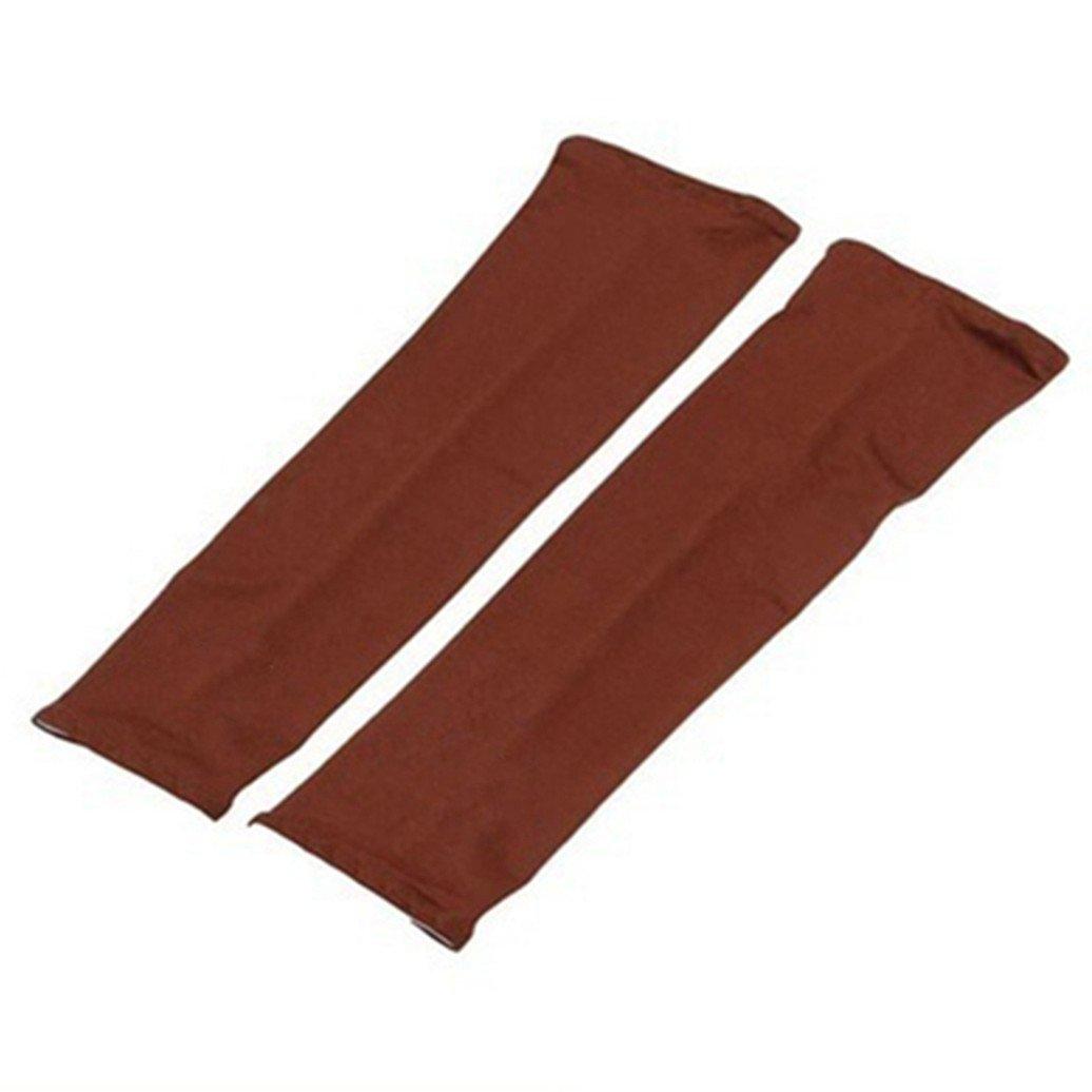 Baost Sunscreen Sports Outdoor Arm Sleeves Covers Anti-UV Ice Silk Sleeve Summer Wear