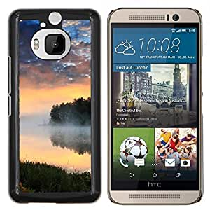 LECELL--Funda protectora / Cubierta / Piel For HTC One M9Plus M9+ M9 Plus -- Naturaleza Beatiful Caribe Bach --