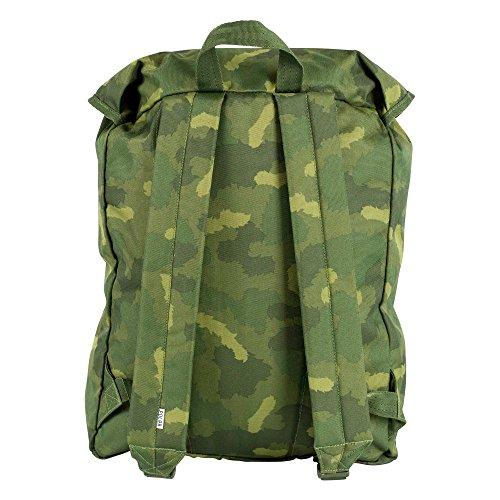 Marrón Mochila Green FIE Furry Camo Unisex Fa17 Caqui Casual POLBAG POLER 712015 xwY1EqnBO
