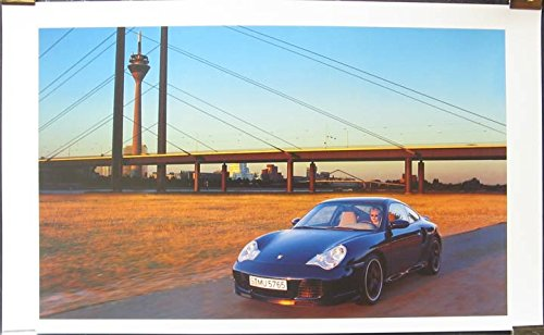 2000 Porsche 911 996 Turbo Showroom Poster