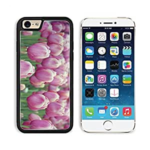 Pink Tulips Flowers Macro Photography Apple iPhone 6 TPU Snap Cover Premium Aluminium Design Back Plate Case Customized Made to Order Support Ready Liil iPhone_6 Professional Case Touch Accessories Graphic Covers Designed Model Sleeve HD Template Wallpape by lolosakes
