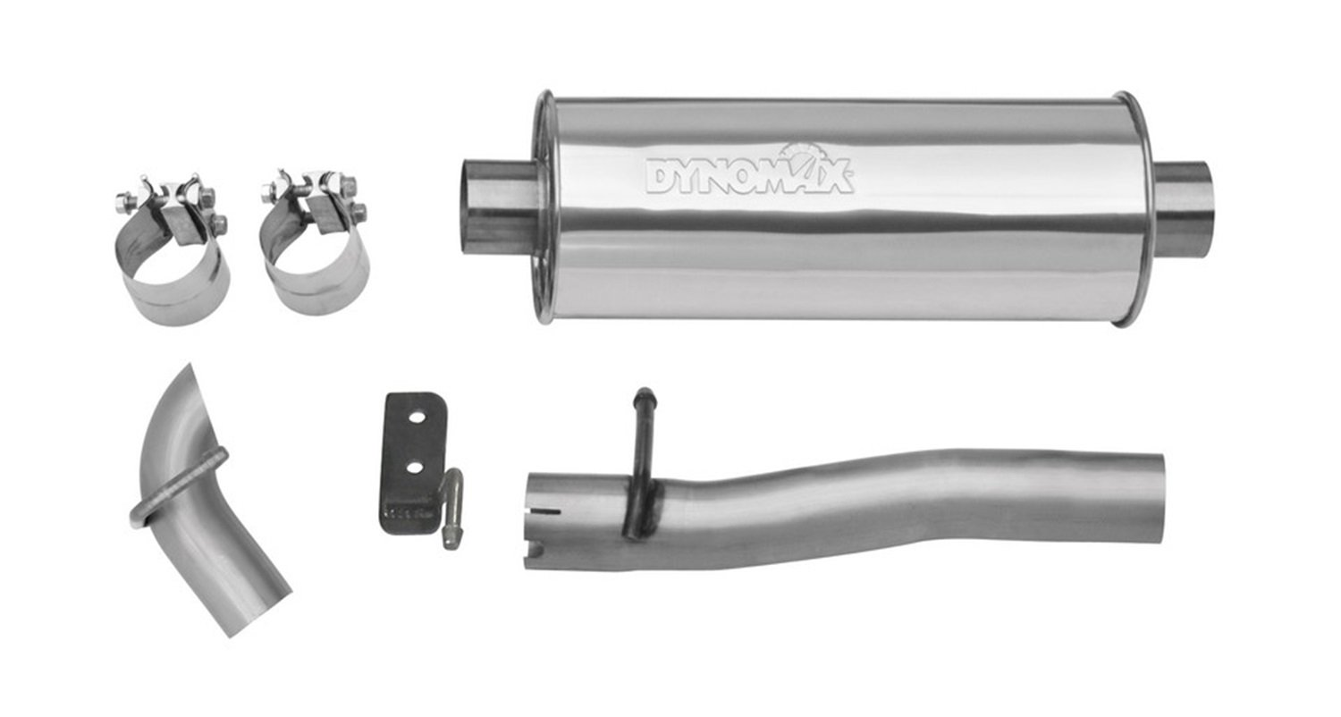 Dynomax 39516 Ultra Flo Stainless Steel Welded Cat-Back System