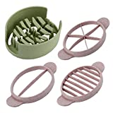 quantum toaster - SuperStores 2017 Creative Multifunction Wheat Straw Cut Egg Slicers Tool Dividers Preserved Egg Splitter Cut Eggs Cooking Tools Kitchen Use (green)
