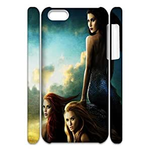 3D Print ABC TV Play&Once Upon a Time Background Case Cover for iPhone 5C- Personalized Hard Cell Phone Back Protective Case Shell-Perfect as gift