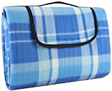 Crotali Waterproof Picnic Blanket Anti-Slip-Layers Portable Light-Weight and Perfect for Camping , Beach , Concerts and Travel