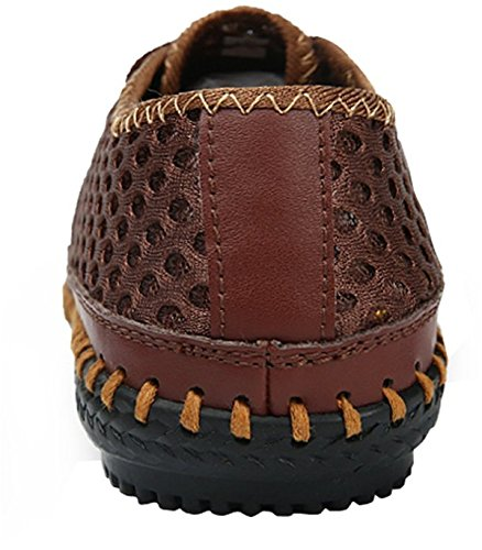 Shoes Walking Coffee Slip Men's for Casual Mesh Water On Shoes Loafers vqHUwOxZ