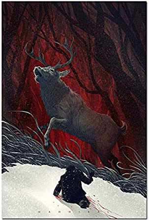 "New Season Hannibal TV Series  Art Fabric Wall Poster 34/""x24/""  041"