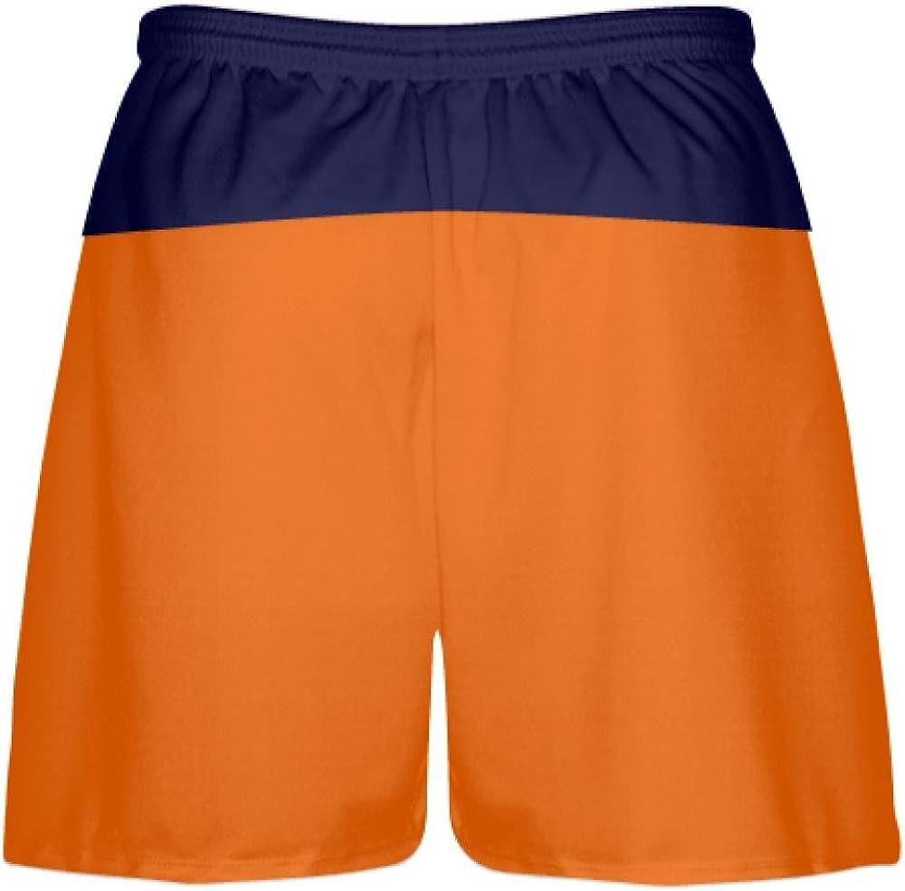 Lacrosse Shorts Mens Boys Youth Orange Youth Orange Navy Blue Lacrosse Short OG