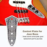 Bass Control Plate, Jazz Switch Control Plate with