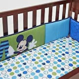 Disney Baby Mickey Mouse Secure Me Crib Bumper