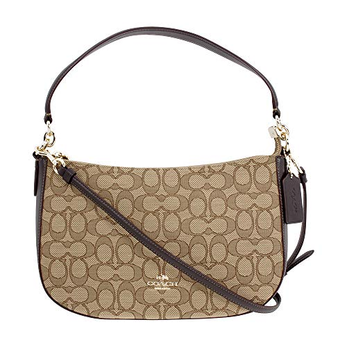 COACH Women's Chelsea Crossbody Li/Khaki/Brown One -
