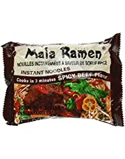 Mala Ramen Instant Noodle - Spicy Beef Noodles 85G (Case of 24) 2.04 Kg - Cooks in 3 Minutes