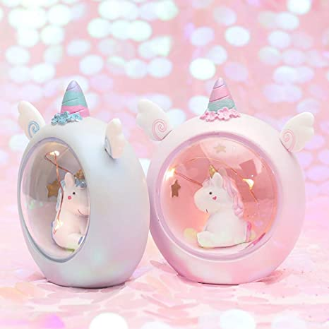 Pink Pink Stars Moon Projector Lamp,Constellation Night Light,Gift for 1-10 Years Old,Kids Toys B-FUL Unicorn Night Light Unicorn Gifts for Girls,Unicorn Light Projector