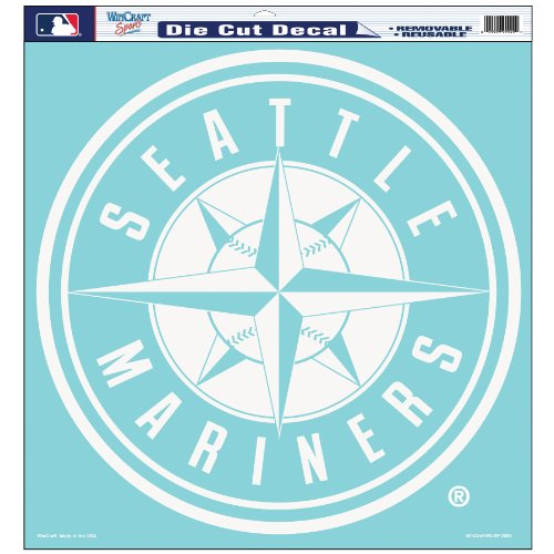 MLB Seattle Mariners 18-by-18 Diecut ()