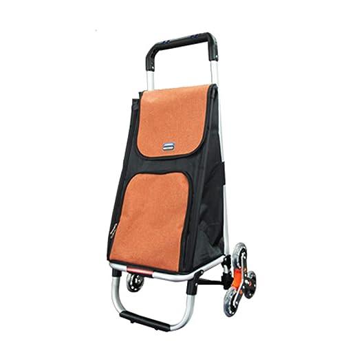 Trolley Plegable Carro de Compras Multifuncional Bolsas de ...