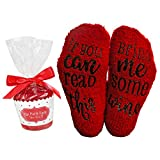 Wine Socks Red with Cupcake Gift Packaging