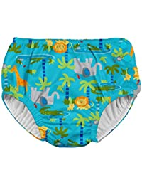 Boys' Snap Reusable Absorbent Swimsuit Diaper