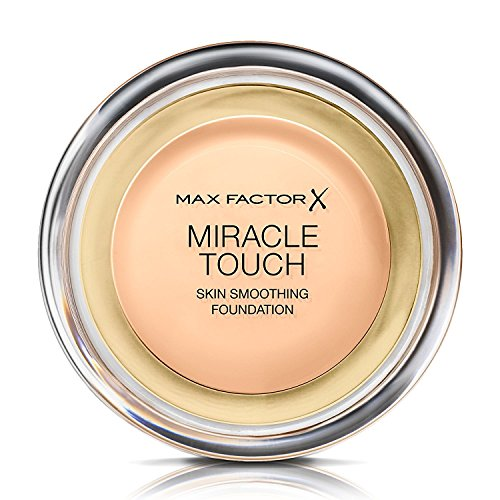 (3 x Max Factor Miracle Touch Liquid Illusion Foundation Warm Almond 45)
