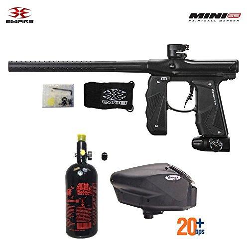 Empire Mini GS HPA Paintball Gun Package - Dust Black (Mini Paintball Gs)