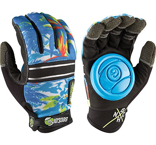 - Sector 9 BHNC Slide Gloves L/XL - Hawaii