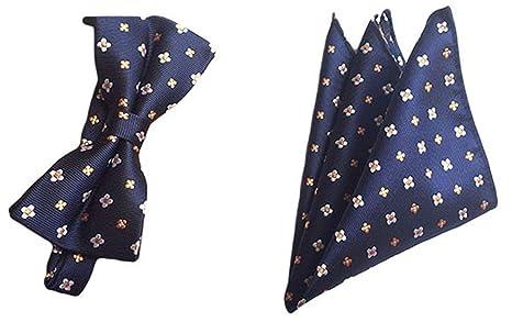 WMING Home Corbata de Lazo de Seda con Estampado Floral de ...