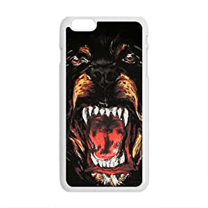Givenchy Rottweiler Pattern Plastic Case For Iphone 6 Plus