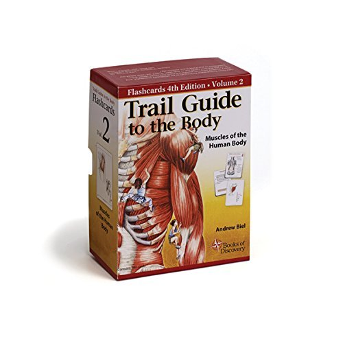By Andrew Biel Trail Guide to the Body Flashcards: Muscles of the Human Body (5 Flc Crds) [Paperback]