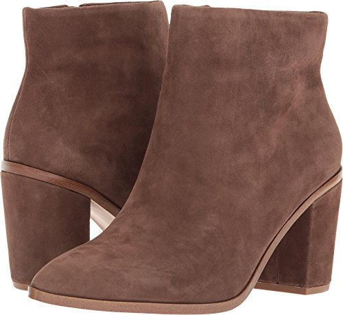 1.STATE Womens Paven Suede Pointed Toe Ankle Fashion Boots, Brown, Size 8.0