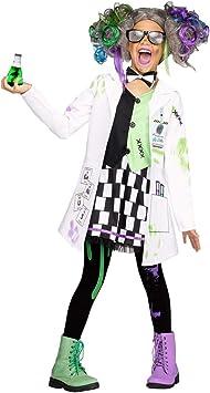 Horror-Shop Disfraz de niña Loca científica XL: Amazon.es ...