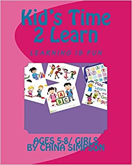 Kid's Time 2 Learn: Ages 5-8/Girl's: Volume 2
