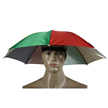 5bdf97f543d73 Image Unavailable. Image not available for. Color  Childplaymate Watermelon Peel  Umbrella Hat Cap Sun Shade Camping Fishing Brolly