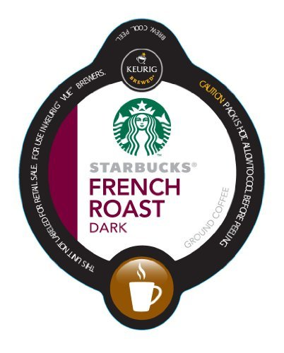Starbucks French Dark Roast Vue Cups For Keurig Vue Brewer @ by Starbucks