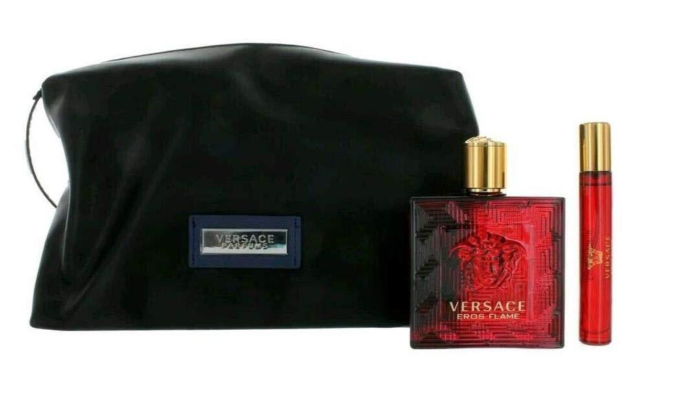Versace Eros Flame Lote 3 Pz - 5 ml: Amazon.es