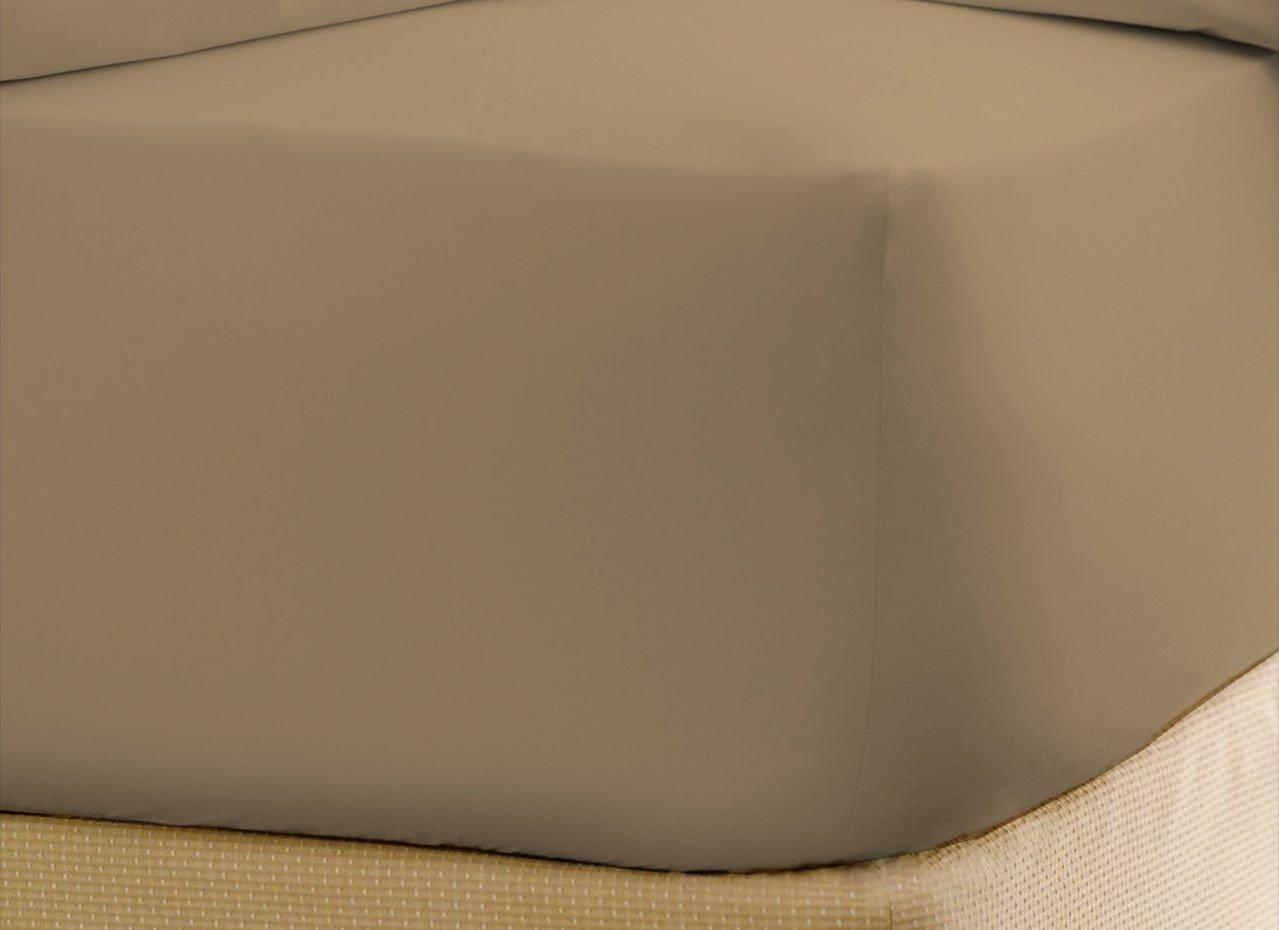 贅沢なホテルコレクション新しいコレクション600スレッドカウント1 Peice Fitted /ボトムシート100 %エジプト綿キングサイズby豪華なシート King Size With 28