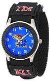 """Game Time Unisex COL-ROB-KAN """"Rookie Black"""" Watch - Kansas"""