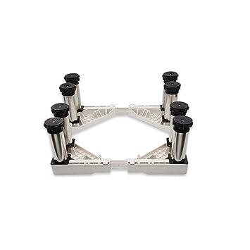 ZXL con Ocho pies Fuertes Lavadora Base Secadores Secadores Base Ajustable de Acero Inoxidable (Color : Style2): Amazon.es: Hogar