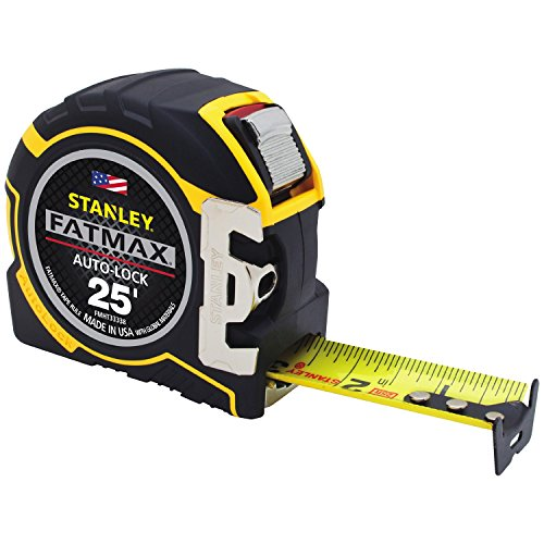 STANLEY FMHT33338L 1-1/4-Inch Auto Lock Tape Measure Bostitch 25' Tape Measure