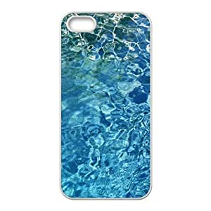 Clear Blue Water Fashion Personalized Phone Case For Iphone ipod touch4