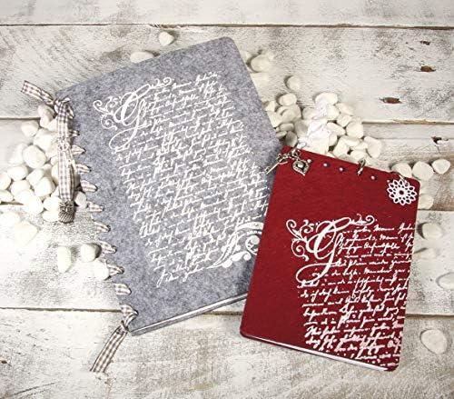 Rayher 38908000 Pochoir /écriture fran/à/§aise Pochoir en Polyester Transparent