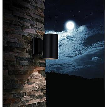 Portfolio 7 in h matte black dark sky outdoor wall light portfolio 7 in h matte black dark sky outdoor wall light mozeypictures Gallery