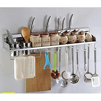 Multipurpose Stainless Steel Kitchen Utensils Organizer Holder 31 Good Looking
