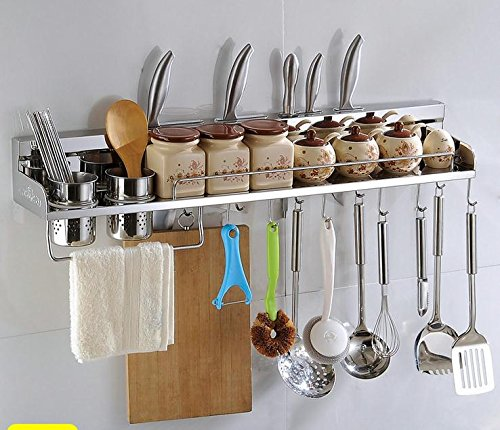 Stainless Steel Kitchen Utensils Organizer