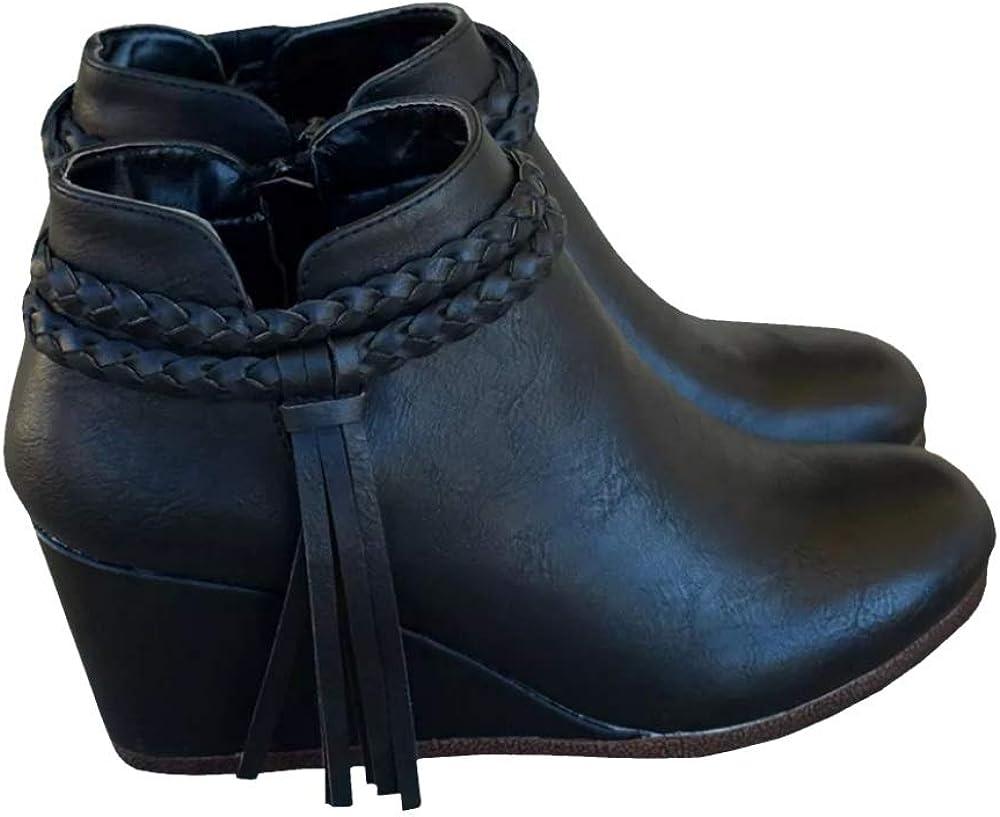 Amazon.com | Fashare Womens Wedge Ankle