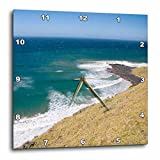 3dRose dpp_71275_1 South Africa, Coffee Bay, Hole in The Rock Coastline-AF42 MWR0115-Micah Wright-Wall Clock, 10 by 10-Inch
